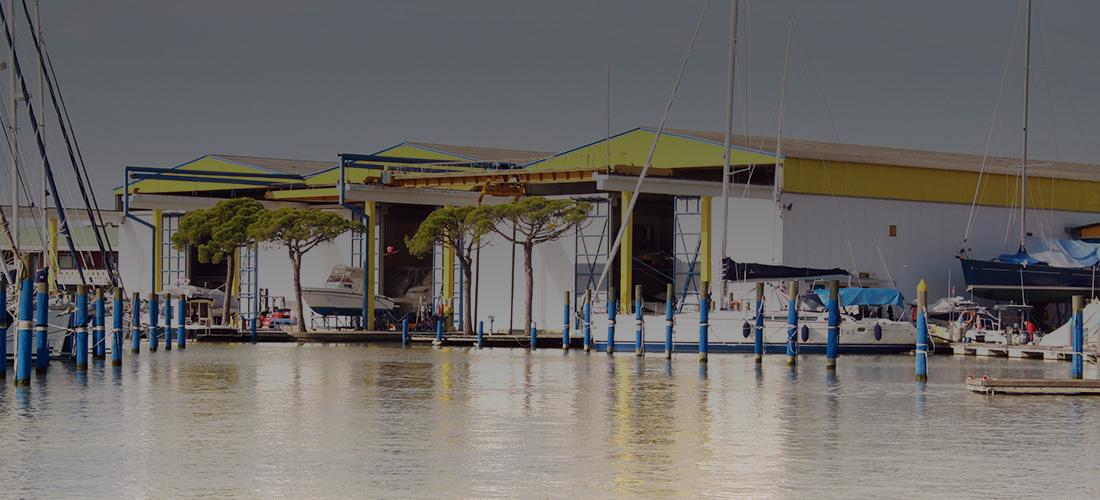 cantiere ricovero barche Marina4 Caorle